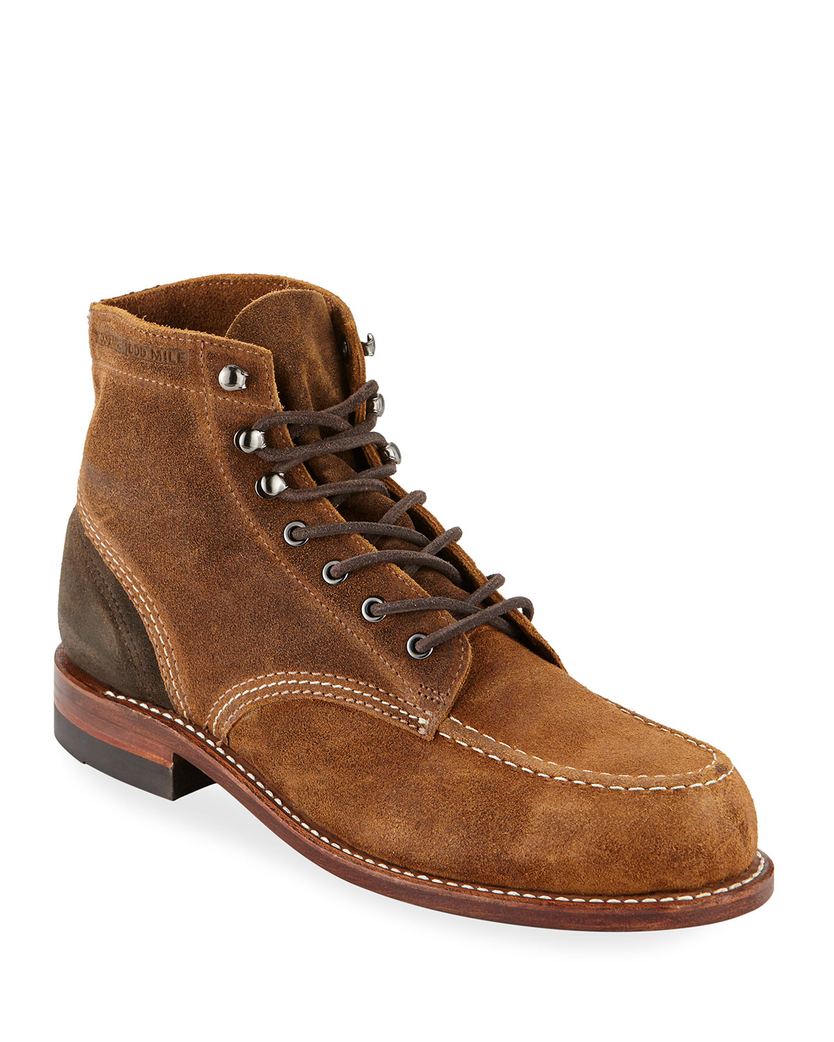 Men's 1000 Mile Rugged Waxy Suede Boots