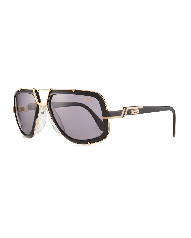 93d37fc919 Cazal Men S 61Mm Square Acetate Metal Aviator Sunglasses