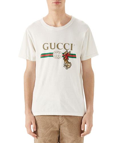 f4233d96ceb Gucci White Tshirt