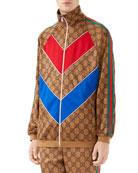 Gucci Men's Large Vintage Logo-Print Track Jacket