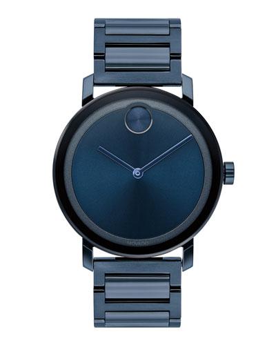 Men's 40mm Bold Evolution Watch, Blue