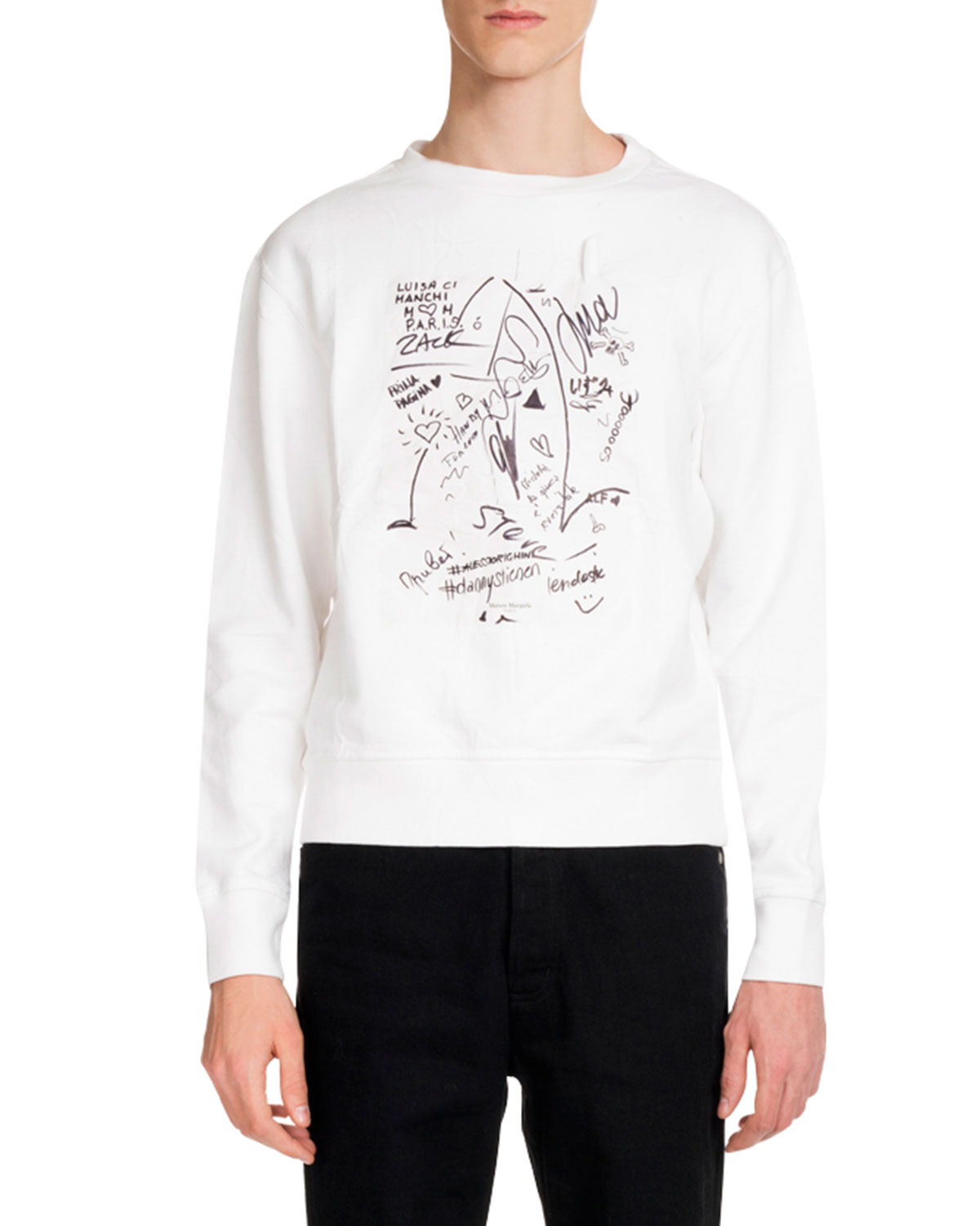 Men's Scribbles Graphic Sweatshirt