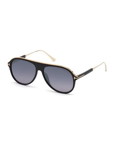 d9695282137 Quick Look. TOM FORD · Men s Shield Acetate Sunglasses ...