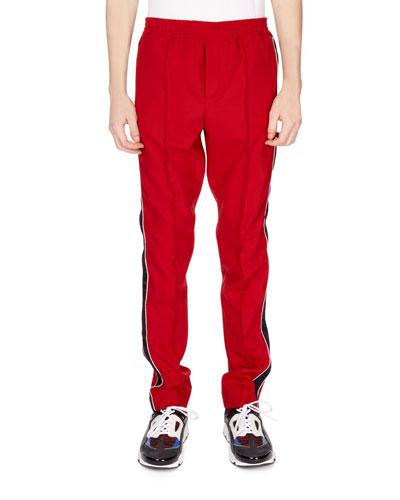 Men's Side-Stripe Track Pants