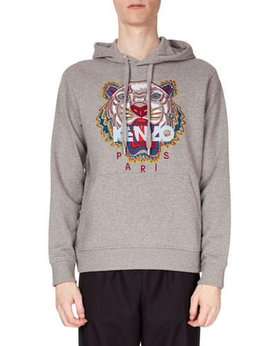 Men's Tiger Pullover Hoodie Sweatshirt