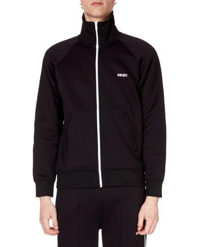 Men's Zip-Front Track Jacket