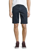 AG Adriano Goldschmied Griffin Flat-Front Shorts
