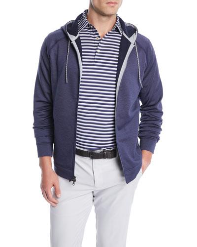 Men's Tokyo Fleece Zip-Front Hoodie