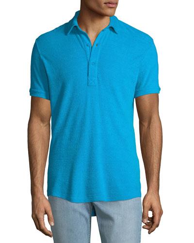 Men's Sebastian Toweling Polo Shirt