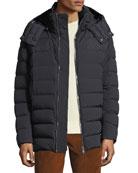 Moncler Men's Mathieu Hooded Puffer Jacket