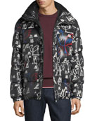 Moncler Men's Marennes Graphic Puffer Jacket