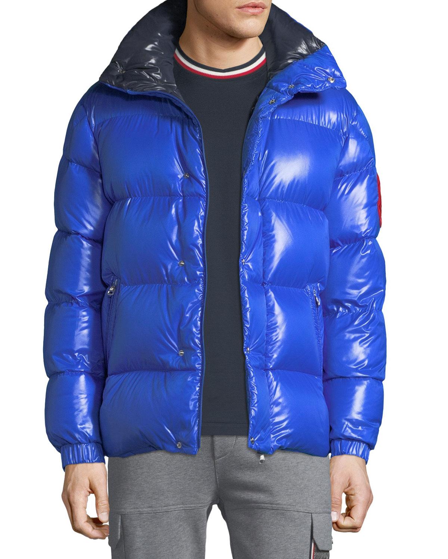 Men's Dervaux Puffer Coat w/ Tuck-Away Hood