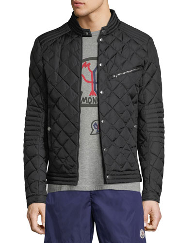 Men's Fred Quilted Zip-Front Jacket