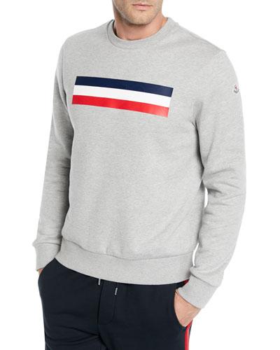 8c4c7ba514cb Quick Look. Moncler · Men s Logo Graphic Pullover Sweatshirt