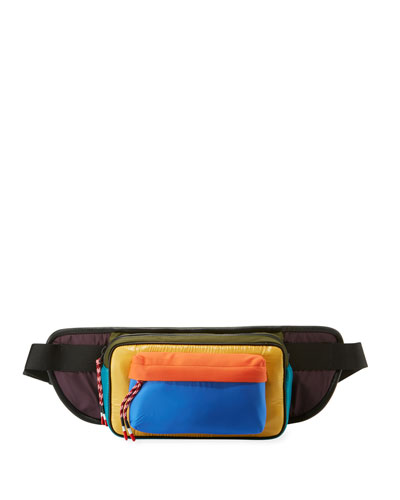 Colorblock Belt Bag