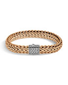 John Hardy Men's Classic Chain Bracelet w/ Bronze,