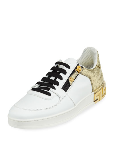 Men's Tribute Leather Low-Top Sneakers