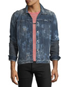 Hudson Men's Donovan Distressed Denim Jacket