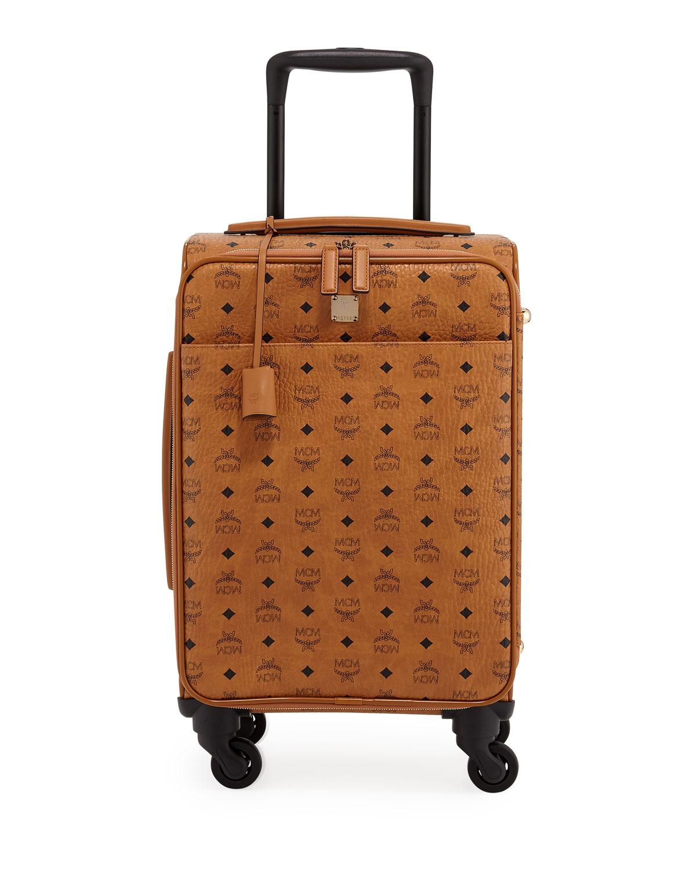 Traveler Visetos Travel Trolley/Rolling Carryon Suitcase Luggage
