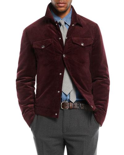 Men's Corduroy Utility Jacket