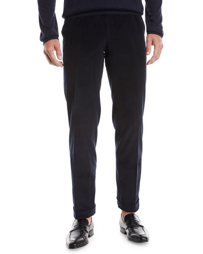 Men's Pinwale Corduroy Dress Pants