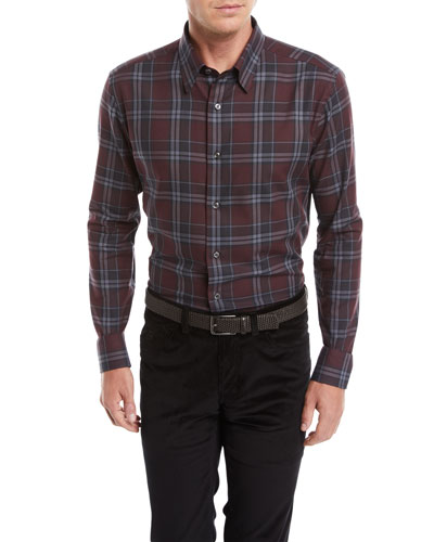 2b330a1560 Red Cotton Casual Shirt | Neiman Marcus