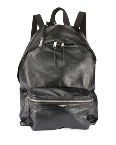 16ac35997fa Quick Look. Saint Laurent · Men's City Foldable Leather Backpack. Available  in Black