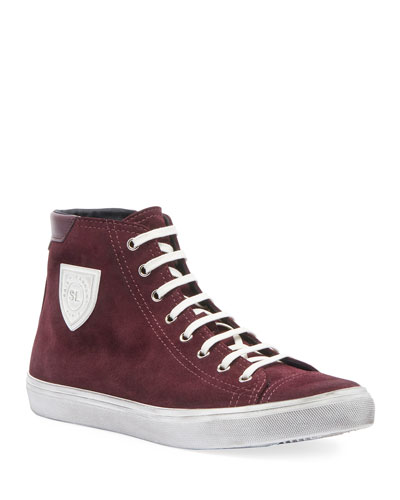 Men's Bedford Suede High-Top Sneakers