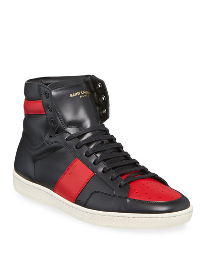764fc79f4b17 Saint Laurent High Top Sneaker