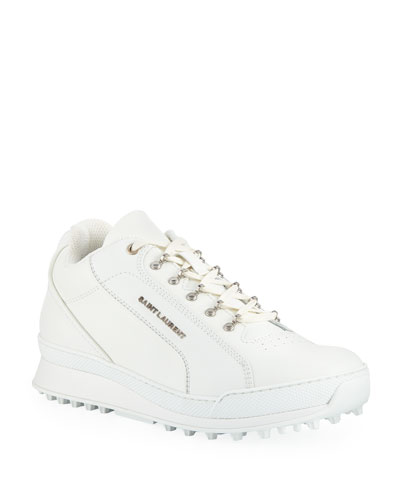 half off ca75e 69e7f Low Top Leather Shoes   Neiman Marcus