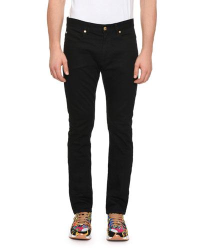 Men's Denim Jeans w/ Barocco Pocket