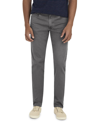 Men's Comfort Twill Five-Pocket Pants