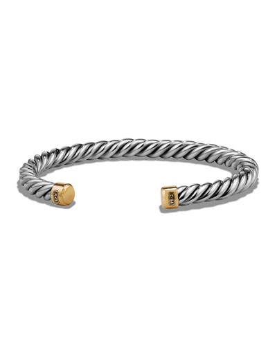Quick Look David Yurman Men S Cable Cuff Bracelet