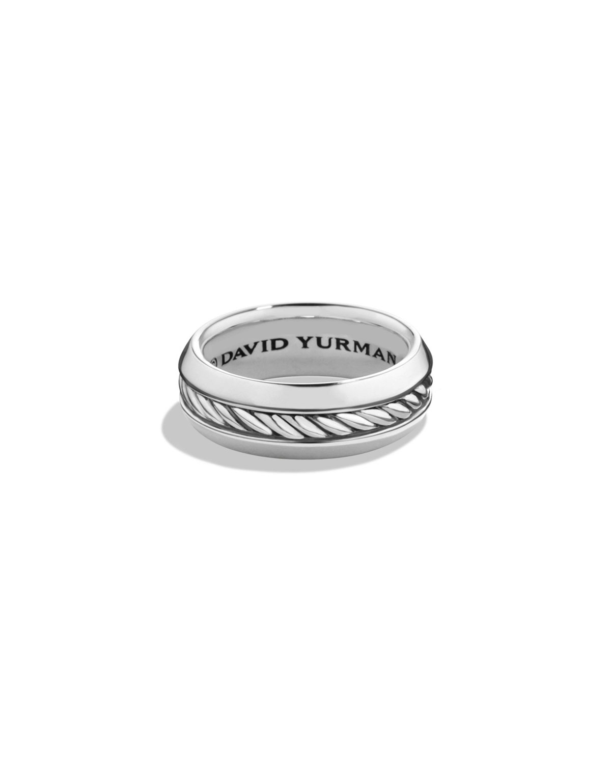 Men's Cable Classic Band Ring