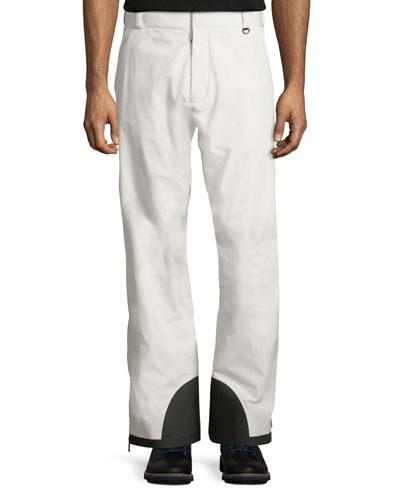Men's Colorblock Nylon Trouser Ski Pants