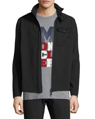 Men's Maglia Zip-Front Shirt Jacket