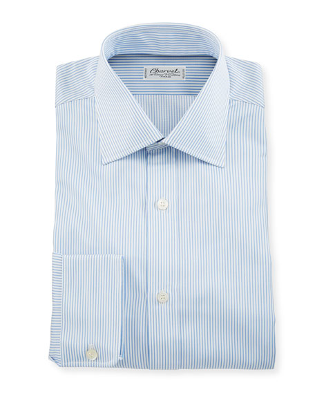 Charvet Men's Small Stripe Dress Shirt