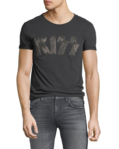 Men's KISS Logo Band T-Shirt