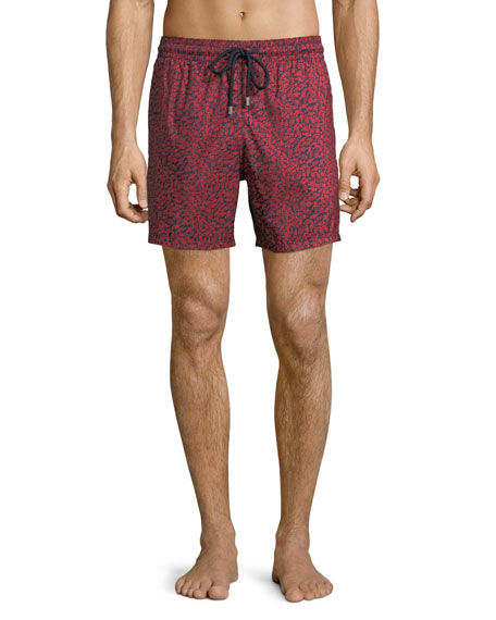 Vilebrequin Men's Mini Fishes Swim Trunks