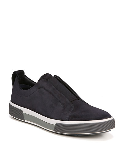 Men's Ranger Suede Slip-On Low-Top Sneaker