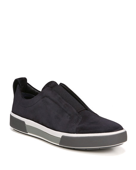 Vince Men's Ranger Suede Slip-On Low-Top Sneaker
