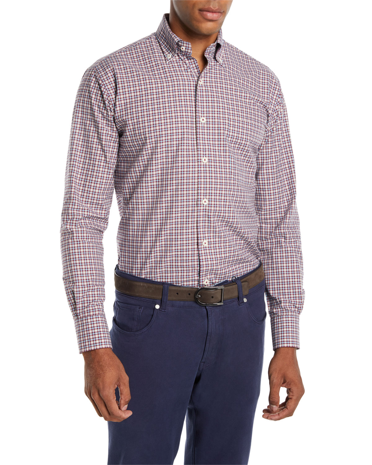 Men's Albertville Check Sport Shirt