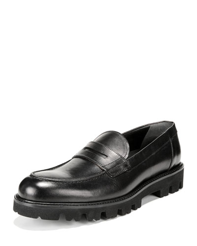 Men's Comrade Leather Lug-Sole Loafer