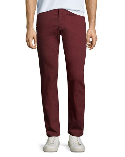 Men's Stretch-Cotton Twill Pants