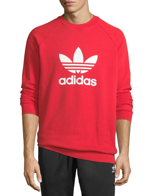 Men's Trefoil Graphic Sweatshirt