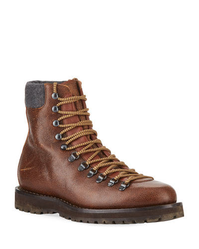 Men's Calf Leather Hiker Boot