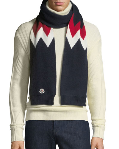 Moncler Wool Scarf  6622d1a8ed9