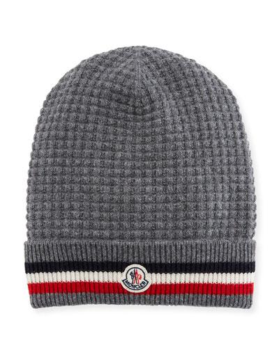 2d191a9bb04 Quick Look. Moncler · Men s Tricot-Knit Beanie Hat