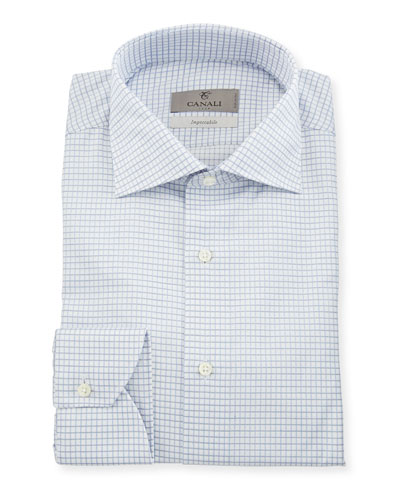 Impeccabile Tattersall Dress Shirt