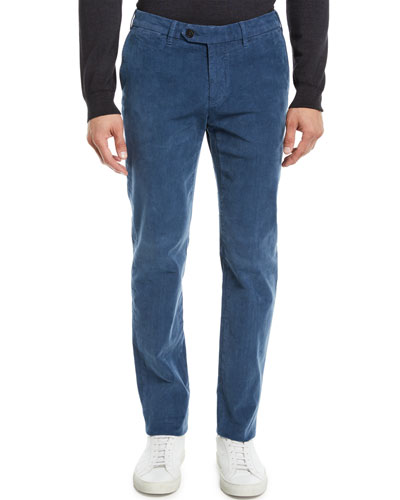 Men's Corduroy Tapered-Leg Pants
